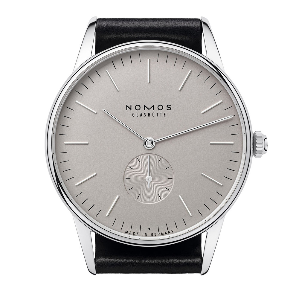 Nomos: Berlin with Glashütte heart