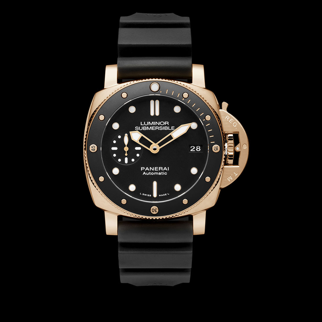 Panerai Luminor Submersible Rotgold