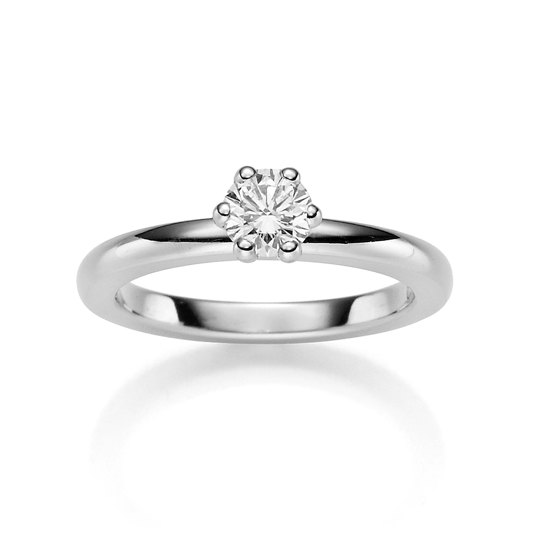 Diamonds 1886 Damenring Platin