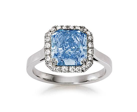 Farbige Diamanten im Trend