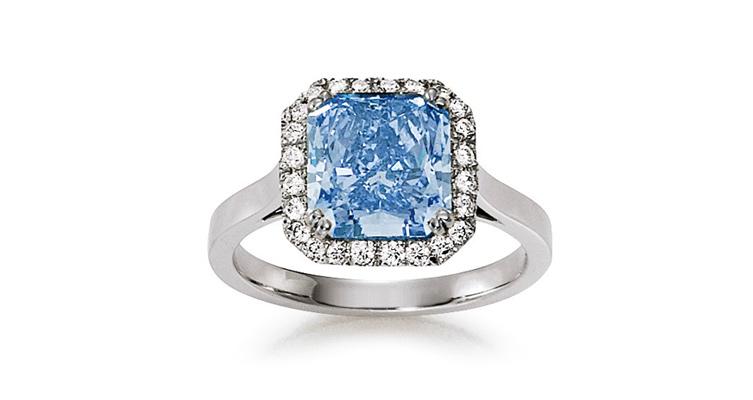 fancy diamond - blauer Diamant