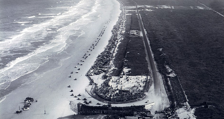 Sandrennstrecke in Daytona Beach, Florida