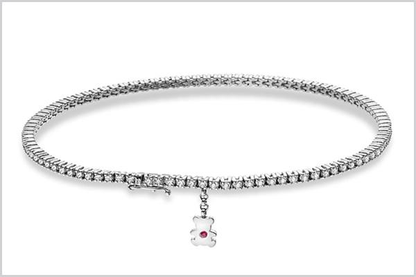 Diamant Armband Bärenherz