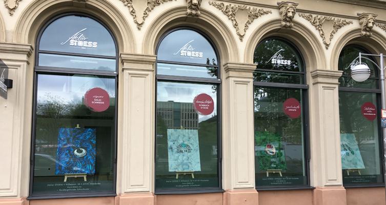 Schmuck-Ausstellung Atelier Stoess in Wiesbaden