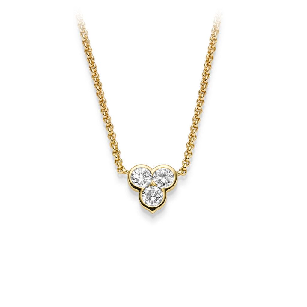 Diamonds 1886 Halsschmuck Gelbgold
